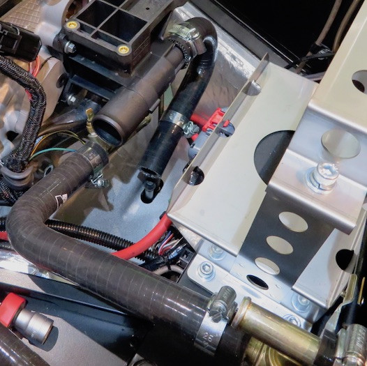 Caterham 7 Build blog self-assembly coolant system