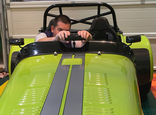 Caterham 7 aeroscreen blog self assembly