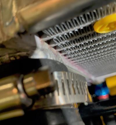 Caterham 7 blog radiator leak