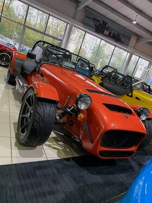Caterham 620S SV Orange Oakmere Motorgroup
