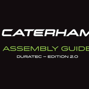 Caterham Cars Duratec Build Manual