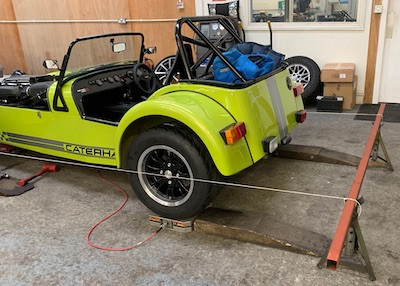 Caterham 7 Build Blog