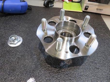 Integra Dc5 Type R rear wheel bearing replacement