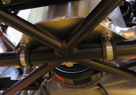 Caterham build blog dry sump tank P-clip