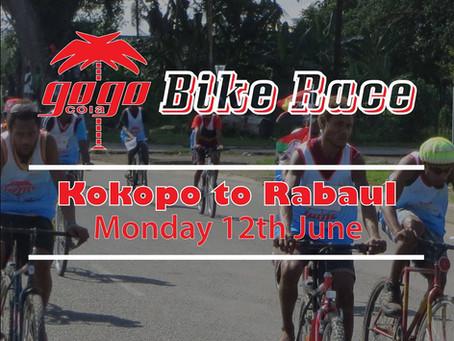 GoGo Cola 🚴🏾 KOKOPO to RABAUL 🚴🏾♀ Bike Race