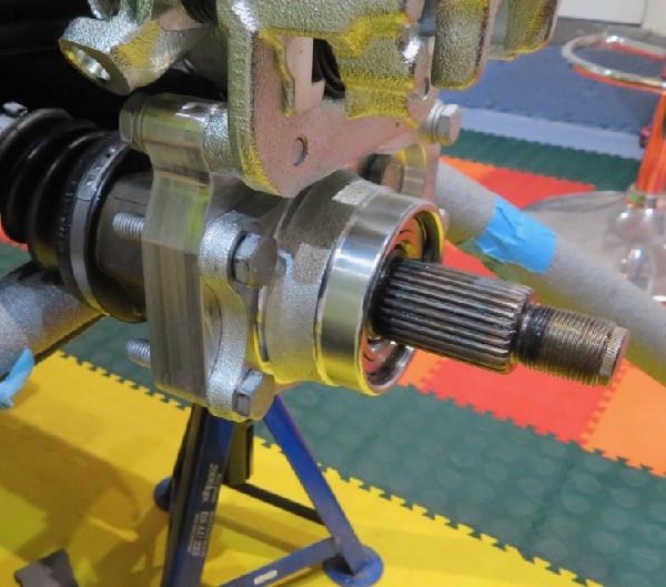 Caterham 7 rear hub bearings ears