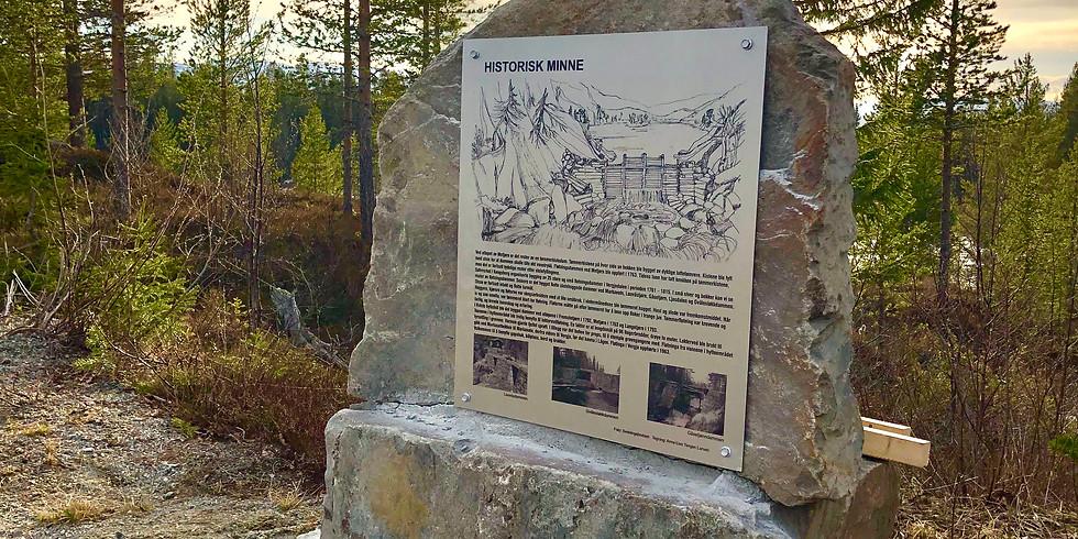 Åpning av Fløtningsplassen ved Metjønn