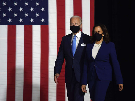La #estrategia tras los discursos de aceptación de Harris y Biden