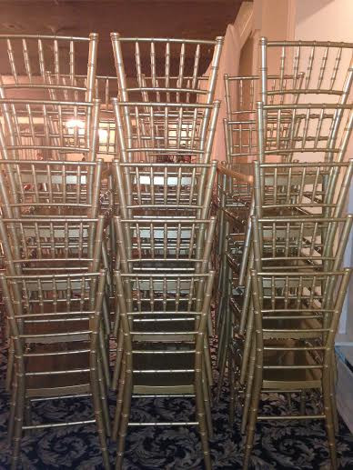 CHIAVARI CHAIR RENTAL $5.00 - SET-UP FOR YOUR EVENT