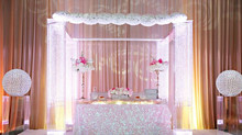 Wedding structure: RENT Lucite Acrylic Chuppah / Mandap FOR $599.99