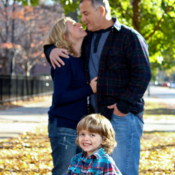 Capture tender family moments.