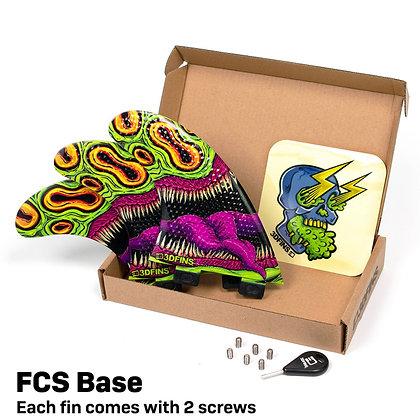 3DFINS GoHard/Mouthy Thruster Set