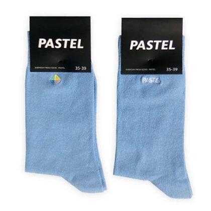Pastel Socks Blue