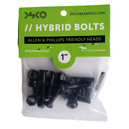"DSCO Hybrid Bolts 1"" Black"