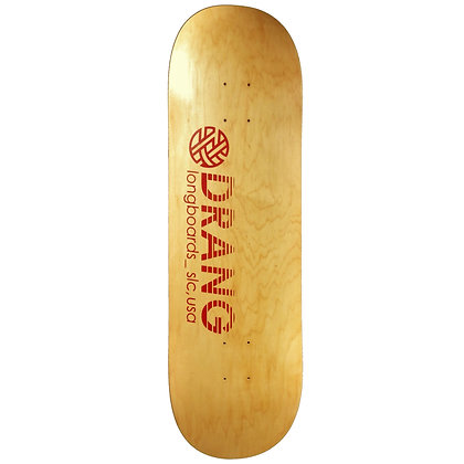 Drang Longboards Red Logo 9.5""