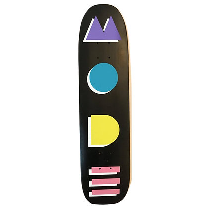 Mode Deco Deck Black 7.4""