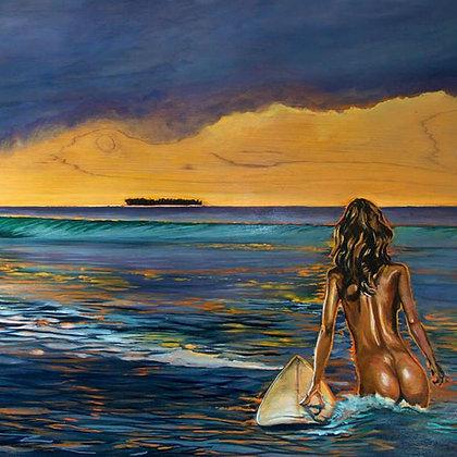P. Goodrich Nude Surfing