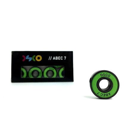 DSCO Bearings Abec 7 Green/Blue
