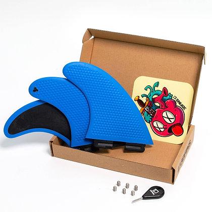 3DFINS GoHard/Soft Blue Thruster Set