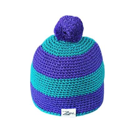 Zaini Kids Purple/Aqua