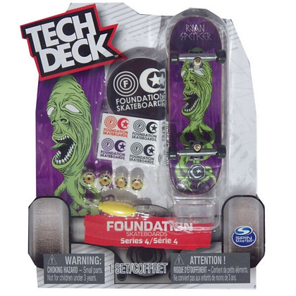Tech Deck Foundation Series 4