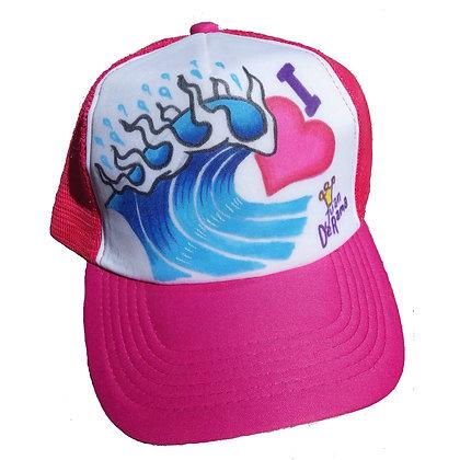 Juan Derama Trucker Cap I Love Surf