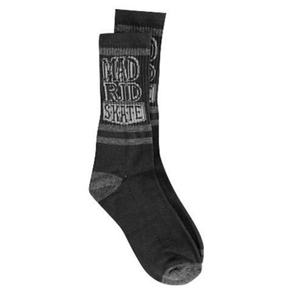 Madrid Sk8 Socks Charcoal/Grey