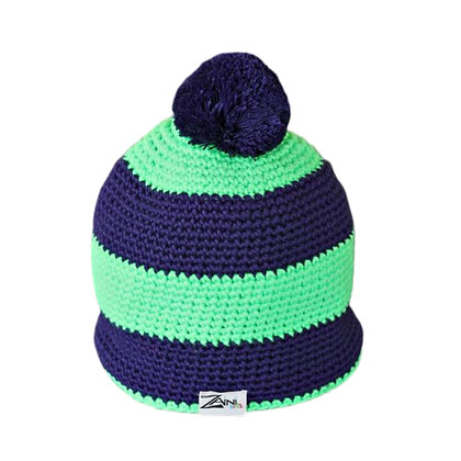 Zaini Kids Fluorescent Green/Purple