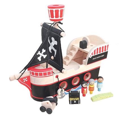Indigo Jamm Jolley Jack Pirate Ship