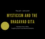 Copy of Mysticism and the Bhagavad Gita.