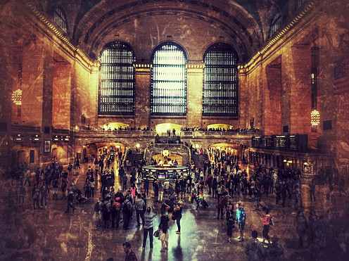 The beautiful Grand Central Station