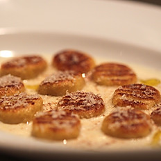 Gnocchi ai 4 formaggi (Four cheese gnocchi)