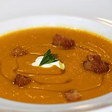 Zuppa di zucca arrosto (Roasted pumpkin soup)