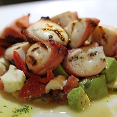 Polpo alla griglia (Grilled octopus)