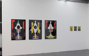 Installation view at AusstellungsHalle 1a