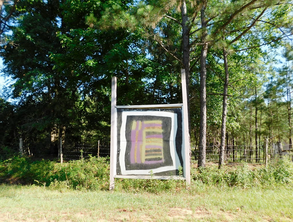 """""""Gee's Bend Quilt Mural""""  by jimmywayne is licensed under  CC BY-NC-ND 2.0"""