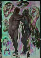 Adam & Eve, wolkenblau
