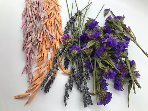 Assorted Oats, Lavender and Sea Lavender