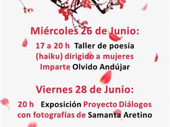 26 y 28 de Junio. Diálogos un proyecto de Espacio C de #intervenciónsocial para Villa del Prado