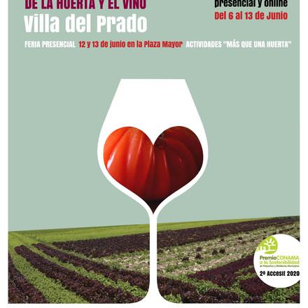 Del 6 al 13 de Junio estaremos con Agenda 2030, cultura y más en la Feria de Villa del Prado