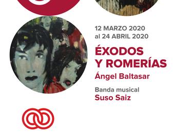 Fecha pospuesta. Fundación ONCE; Éxodos y Romerías, una exposición de Ángel Baltasar con proyección