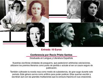 7 de Abril. Conferencia: Nuestras escritoras olvidadas: Carlota O´Neill