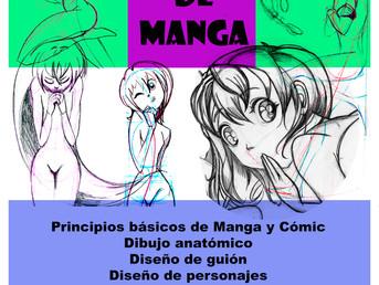 7 de Septiembre. Empezamos las clases de dibujo Manga. Viernes de 17.30 a 19 h.