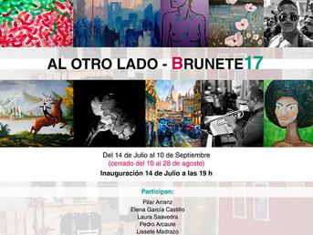 1ª Exposición abierta Brunete17 para artistas y creadores NO profesionales. Del 14 de Julio al 10 de