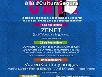 12 de Diciembre: Voz en Contra y Amigos #JazzalaCulturaSegura #JazzalaCata sin Cata