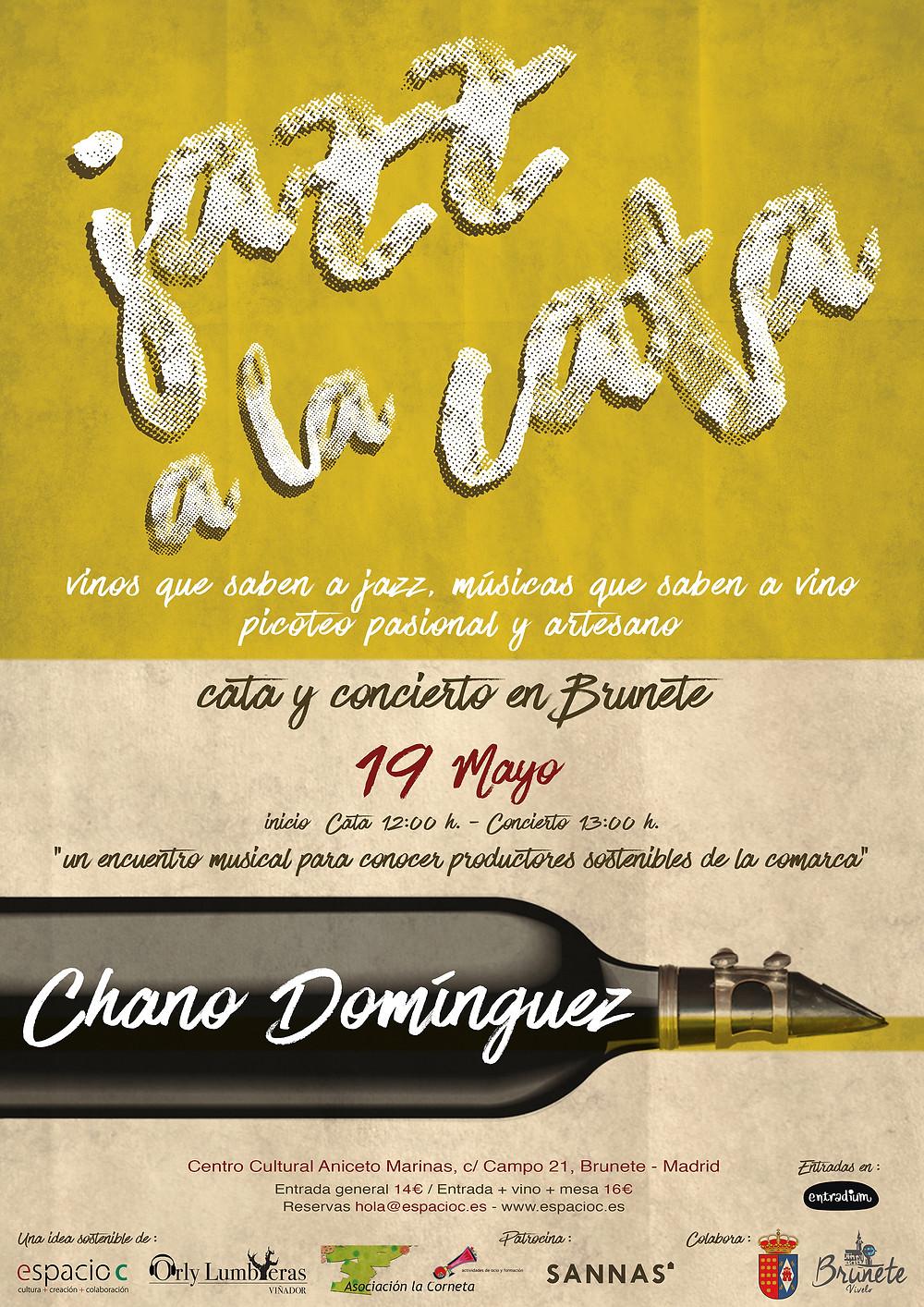 Chano Dominguez en Jazz a la Cata