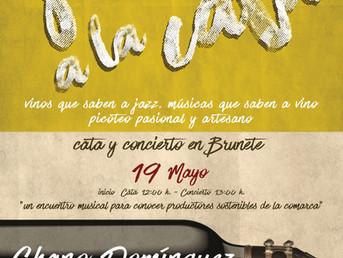 19 de Mayo. Chano Domínguez en Jazz a la Cata. #CulturaSostenible