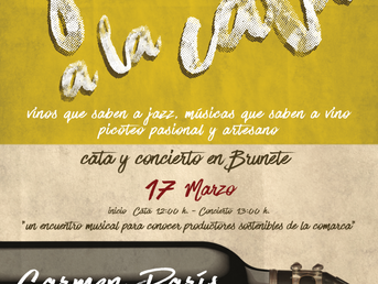 17 de Marzo. Carmen París en Jazz a la Cata