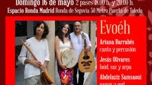 15 y 16 de Mayo. Toledo y Madrid con Evoéh, música sefardí y homenaje a Ibn Gabirol
