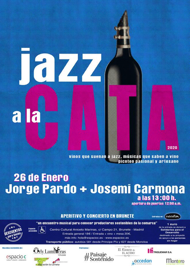 Jorge Pardo + Josemi Carmona #JazzalaCata